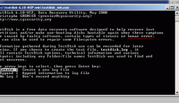 Восстановление разделов жесткого диска при помощи программы TestDisk